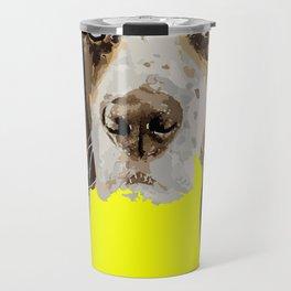 I can Fly Hound Animal Portrait Travel Mug