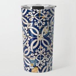 Portuguese glazed tiles Travel Mug