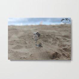 Landmine Metal Print