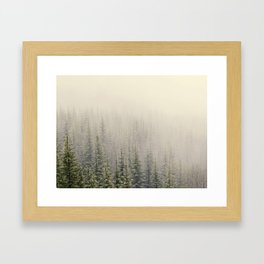 Mountain Haze Framed Art Print