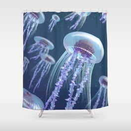 Gelly fish Shower Curtain