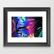 Blues Fantasy Framed Art Print