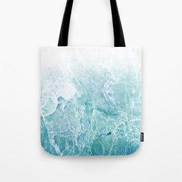 Sea Dream Marble - Aqua and blues Tote Bag