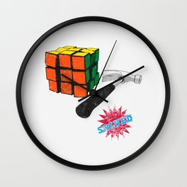 solved ! Wall Clock