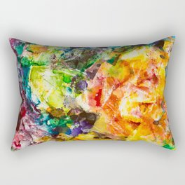Abstract roses Rectangular Pillow