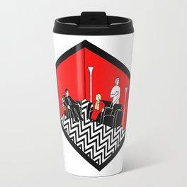Twin Peaks Black Lodge Travel Mug