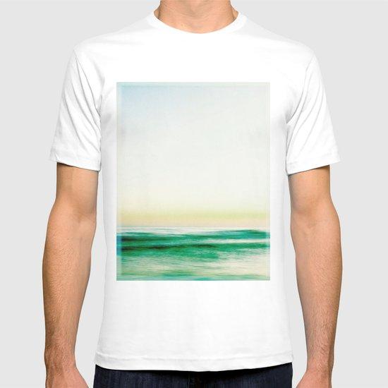 where the sea meets the sky T-shirt