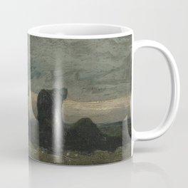 Two Women on the Peat Moor Coffee Mug