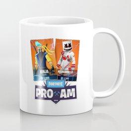 Ninja or Marshmello Coffee Mug