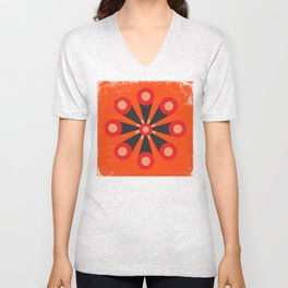 Flower Extract Unisex V-Neck