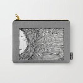 Separated grey Carry-All Pouch