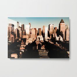 Hells Kitchen Metal Print