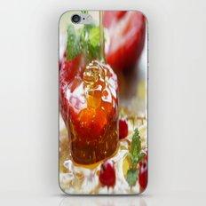 Summer Love strawberries with honey iPhone & iPod Skin