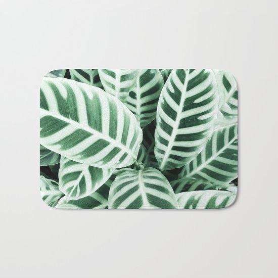Wild leaf Bath Mat