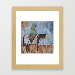 """""""A Horse With no Name"""" Framed Art Print"""