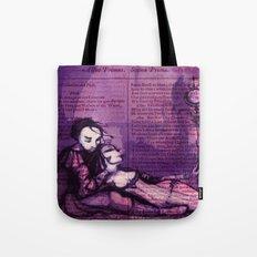 Anthony & Cleopatra -  Shakespeare Folio Illustration - Egyptian Love  Tote Bag