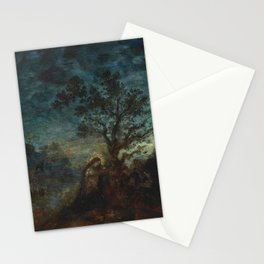 """Gustave Moreau """"Christ in the Garden of Olives"""" Stationery Cards"""