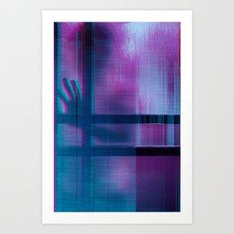 anaglych_2.0_11 Art Print