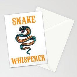 Snake Whisperer Stationery Cards
