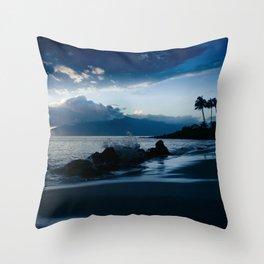 Polo Beach Dreams Maui Hawaii Throw Pillow
