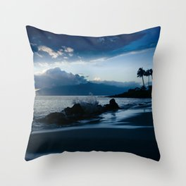 Polo Beach Dreams Maui Hawaii Throw Pillow