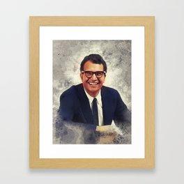 Dave Brubeck, Music Legend Framed Art Print