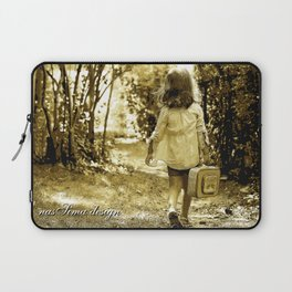 Angel of Hope & Lily Gold Laptop Sleeve