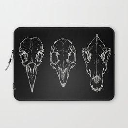 Raven, Rabbit, Wolf - Skulls Laptop Sleeve