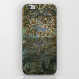Apocalyptic Vision of the Sistine Chapel Rome 2020 iPhone Skin