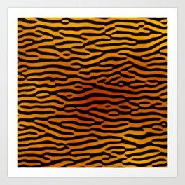 Tiger Print (Tiger King) Art Print