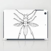 insect iPad Cases featuring Insect by Martin Stolpe Margenberg