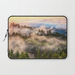 Coastal Fog Over Mount Tamalpais Laptop Sleeve