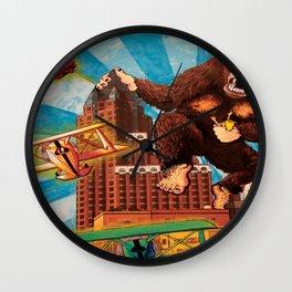 Milwaukee vs. the Super Ape Wall Clock