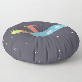 Rocket Floor Pillow