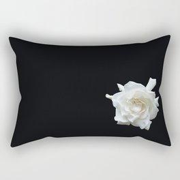 Gardenia on Black DPG150524 Rectangular Pillow