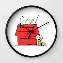 Snoop Dogg and Charlie Brizzle Wall Clock