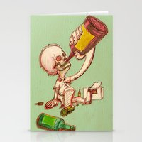drink Stationery Cards featuring Drink by SaulB