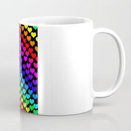 Coeurs d'Arc-en-ciel Coffee Mug