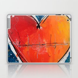 Go with you heart Laptop & iPad Skin