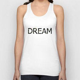DREAM in bloom Unisex Tank Top