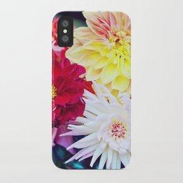 Darling Dahlias I iPhone Case