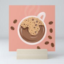 Saturday Coffee Mini Art Print