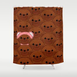 A Bear In Disguise Shower Curtain