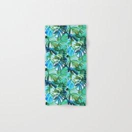 Palm Leaf Green Hand & Bath Towel