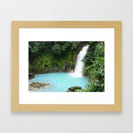Rio Celeste Adventure Framed Art Print