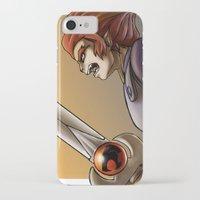 thundercats iPhone & iPod Cases featuring Leon-O by Sabina  Daldovo