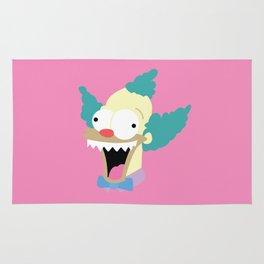 Evil Krusty Rug