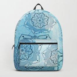 Blue mandalas Backpack