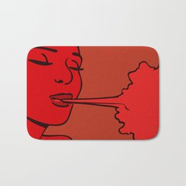 The Elements_Air (Red) Bath Mat