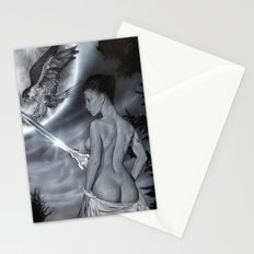 Fantasy girl Stationery Cards